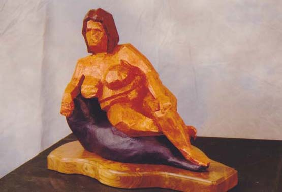 Botero's Muse